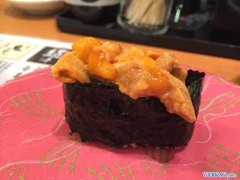 ウニ 海天丸(かいてんまる)苫小牧店 回転寿司 北海道 sushi hokkaido