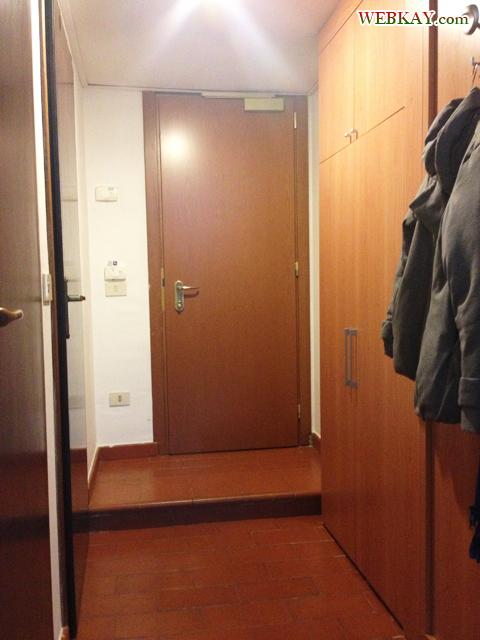 玄関 クローゼット ホテル デルタ フローレンス 情報 Hotel Delta Florence カレンツァーノ(Calenzano) イタリア旅行 口コミ&感想