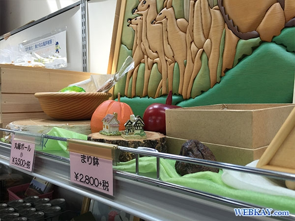 木のアート 特産センター 車旅 道の駅 音更 北海道 hokkaido otofuke roadtrip
