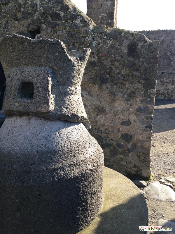 パン屋 ポンペイ Pompeii 世界遺産 オプショナルツアー 観光 イタリア周遊 旅行