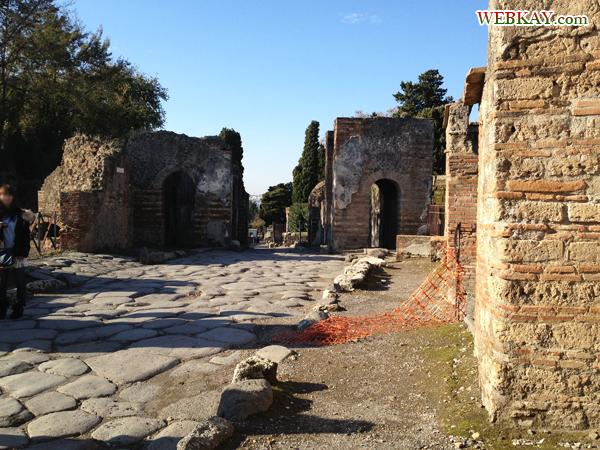 エルコラーノ門 お墓 ポンペイ Pompeii 世界遺産 italy