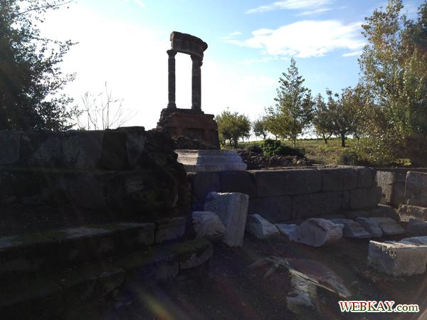 お墓 ポンペイ Pompeii 世界遺産 italy