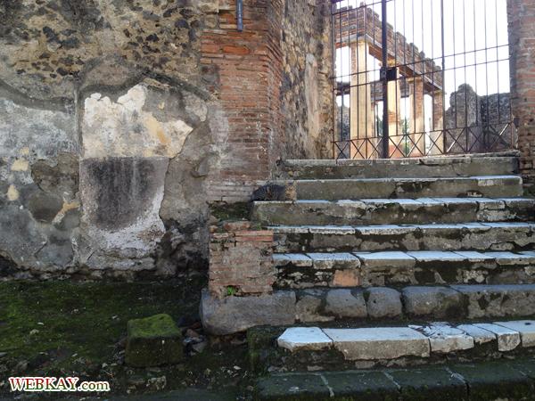 ディオメデス荘 ポンペイ Pompeii 世界遺産 italy