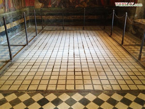 VILLA DEI MISTERI 秘儀荘 ポンペイ Pompeii 世界遺産 italy