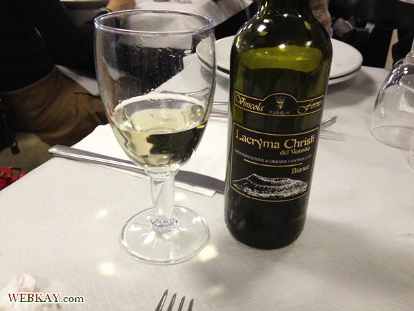 ワイン ランチ 食事 食べログ オプショナルツアー参加 ポンペイ Pompeii 一日観光