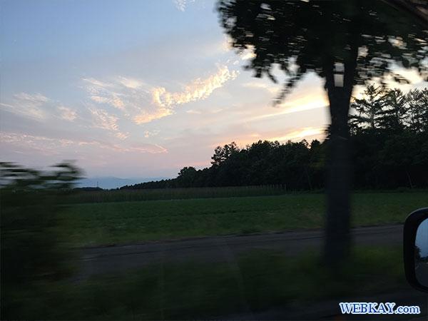 夕暮れ 夕陽 十勝豚丼 いっぴん 帯広本店 食べログ 夕日 sunset