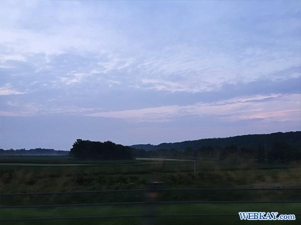 星野リゾートトマムの雲海テラスで見る雲海 hokkaido tomamu sea of cloud