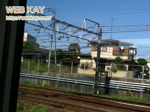 サイパン 成田エクスプレス 電車内