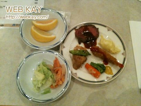 サイパン 日航ホテル 食事
