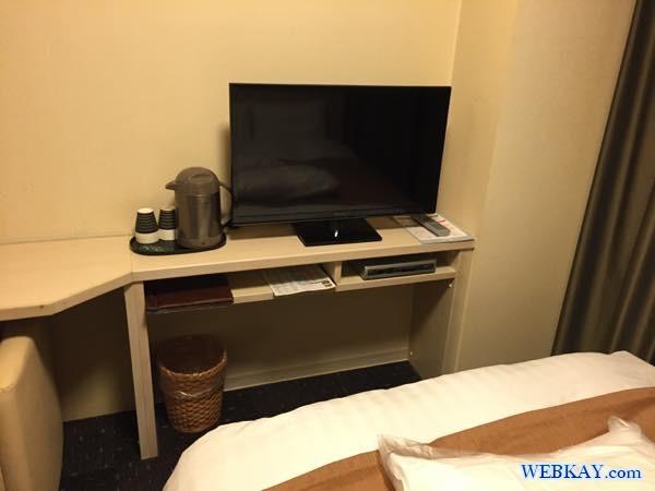 部屋 ルーム ドーミーイン北見 dormy inn kitami ホテル 宿泊 北見 乾燥機 部屋写真 口コミ 利用した感想
