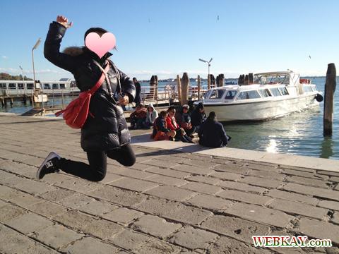 veneziaでジャンプ!!