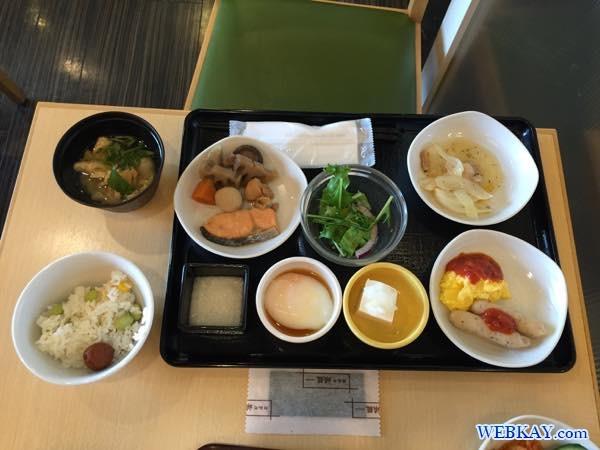 和食 朝食 breakfast dormy inn kitami ホテル 宿泊 北見 口コミ 食べログ