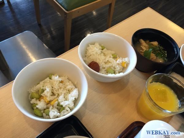 豆ご飯 朝食 breakfast dormy inn kitami ホテル 宿泊 北見 口コミ 食べログ