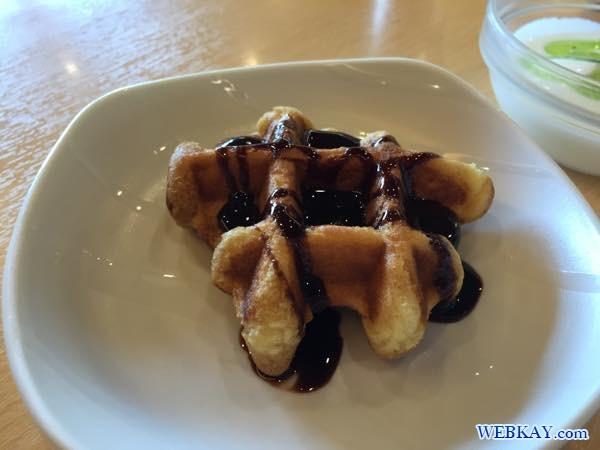 チョコかけワッフル 朝食 breakfast dormy inn kitami ホテル 宿泊 北見 口コミ 食べログ