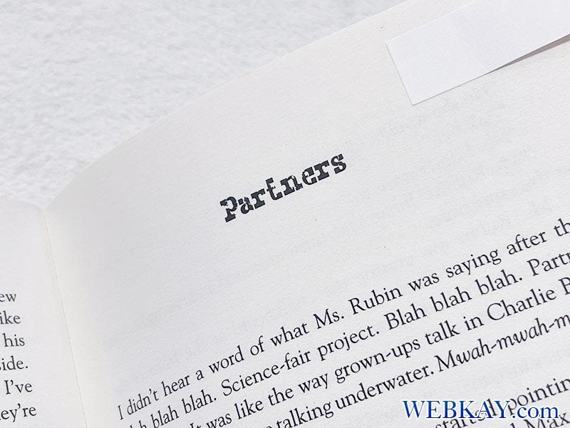 洋書「Wonder(ワンダー)」を読む。Part 4. Jack - Partners★勉強メモ