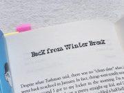 洋書「Wonder(ワンダー)」を読む。Part 4. Jack - Back from Winter Break★単語と表現勉強メモ