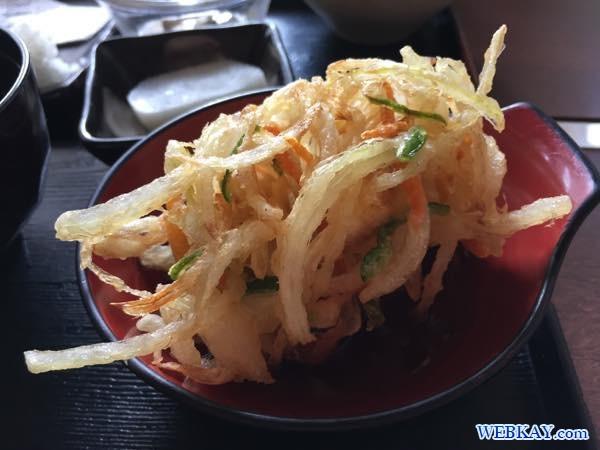 つぶのかき揚げ しれとこ里味(さとみ)食べログ 北海道知床 shiretoko satomi