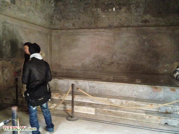 フォロー浴場 TERME DEL FORO ポンペイ Pompeii 世界遺産 italy
