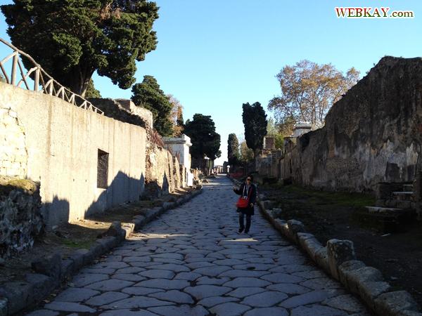 ポンペイ Pompeii 世界遺産 オプショナルツアー 観光 イタリア周遊 旅行