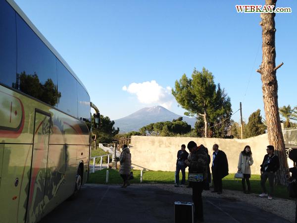 ベスビオ山 食べログ オプショナルツアー参加 ポンペイ Pompeii 一日観光