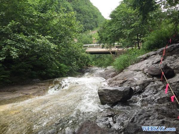 北海道 知床 カムイワッカ湯の滝 kamuywakka waterfall