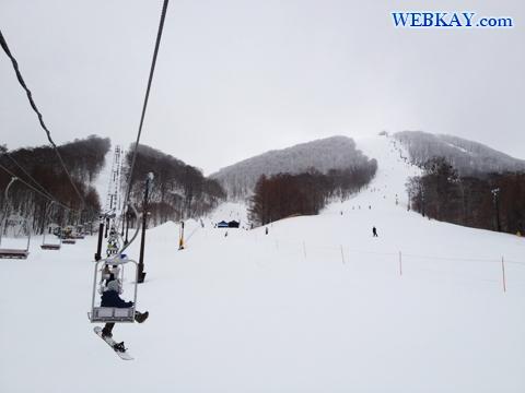 裏磐梯猫魔スキー場 福島県 スノーボード snowboarding Japan fukushima