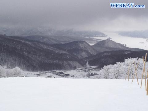 桧原湖 ダルジャン・センター 裏磐梯猫魔スキー場 福島県 スノーボード snowboarding Japan fukushima