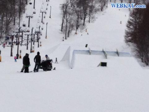フリースタイルパーク 裏磐梯猫魔スキー場 福島県 スノーボード snowboarding Japan fukushima