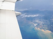 羽田発の那覇行き飛行機 沖縄