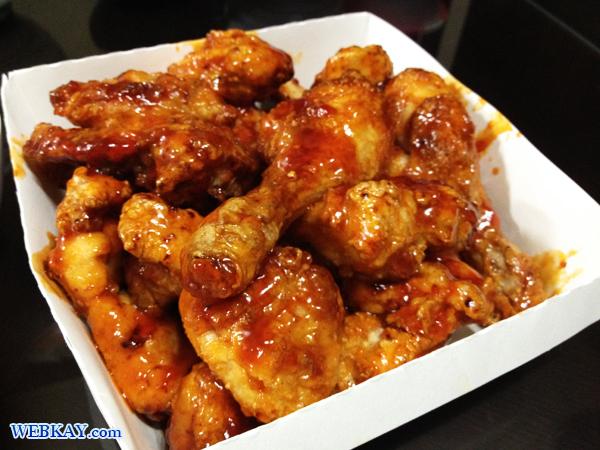 チキン 韓国 フライド