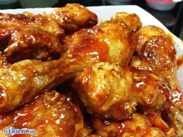 ヤンニョムチキン 양념치킨 韓国 フライドチキン Korean fried chicken