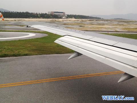 久米島空港 JAL