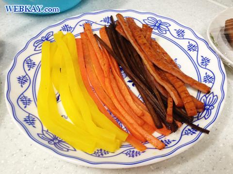 キンパの作り方 김밥 韓国 家庭料理