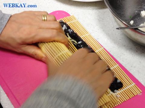 巻き方 キンパの作り方 김밥 韓国 家庭料理