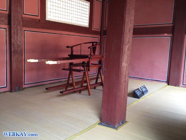 소여(ソヨ) 輿 こし 종묘(チョンミョ) 宗廟(そうびょう) 世界遺産