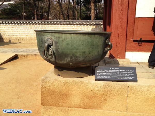 드므(ドゥム) 종묘(チョンミョ) 宗廟(そうびょう) 世界遺産