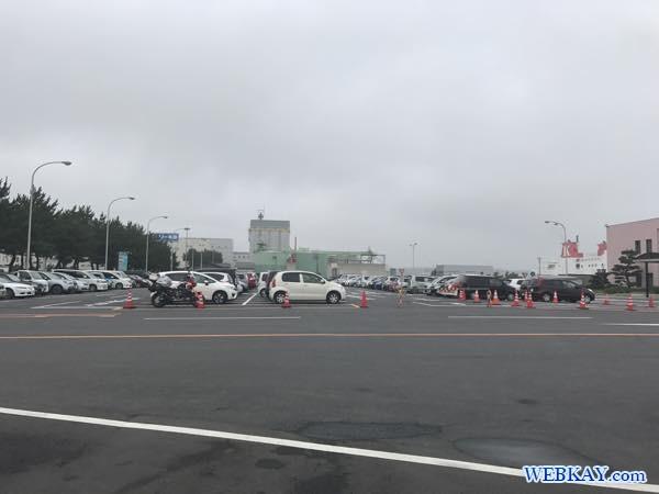 駐車場 parking 八戸港フェリーターミナル シルバーフェリークイーン hachinohe ferry terminal silver ferry queen