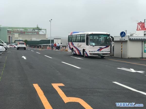 バス停 八戸港フェリーターミナル シルバーフェリークイーン hachinohe ferry terminal silver ferry queen