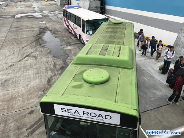 バス 八戸港フェリーターミナル シルバーフェリークイーン hachinohe ferry terminal silver ferry queen