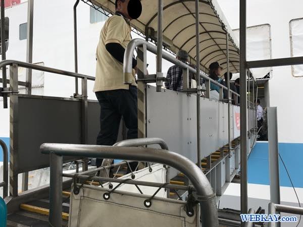 乗船 八戸港フェリーターミナル シルバーフェリークイーン hachinohe ferry terminal silver ferry queen