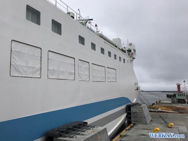 八戸港フェリーターミナル シルバーフェリークイーン hachinohe ferry terminal silver ferry queen