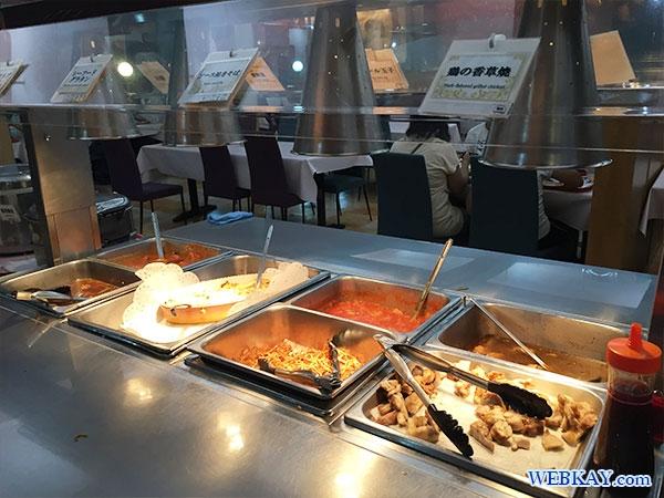 シーフードグラタン、ソース焼きそば、鶏の香草焼 さんふらわあ さっぽろ バイキング ビュッフェ 夕食 食べログ 感想 sunflower sapporo dinner buffet hokkaido