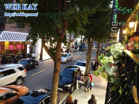 新沙洞 街路樹通り カロスキル 韓国 ソウル