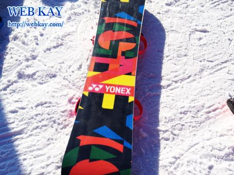夏油高原スキー場 スノーボード YONEX