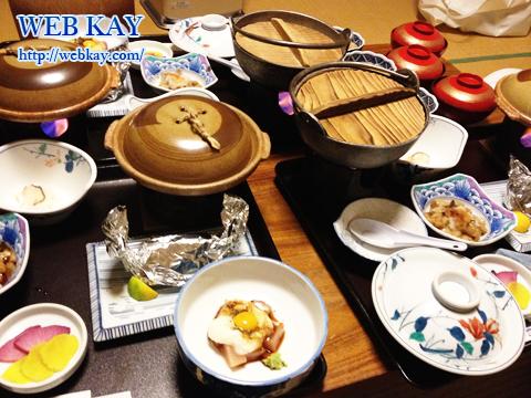 田沢高原ホテル たざわ湖 年末 食事