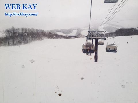 田沢湖スキー場 たざわ湖スキー場 IRISゲレンデ スノーボード クワッドリフト