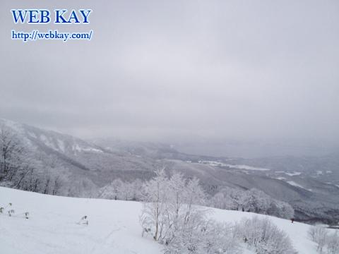 田沢湖スキー場 たざわ湖スキー場 雪景色