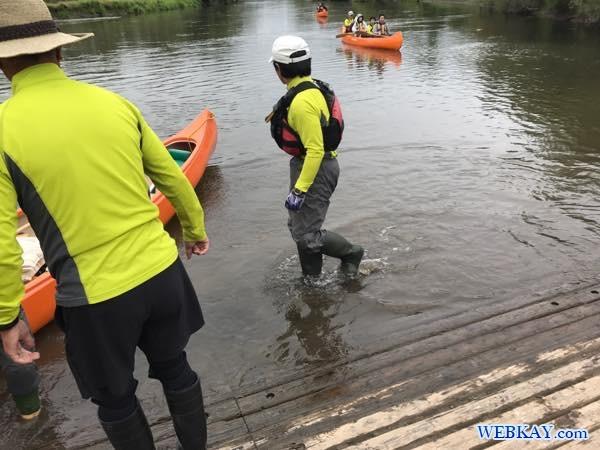 ヌーツアー 釧路湿原 カヌー Kushiro Marsh canoe
