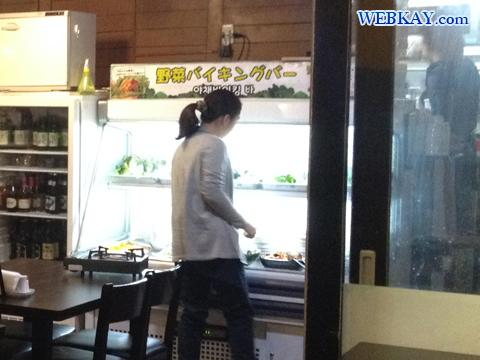 サラダバー 野菜 ソウル本家 新大久保 韓国料理 焼肉 食べログ