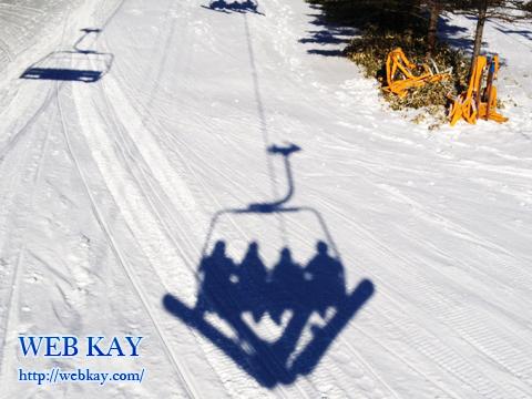 車山高源スキー場 リフト